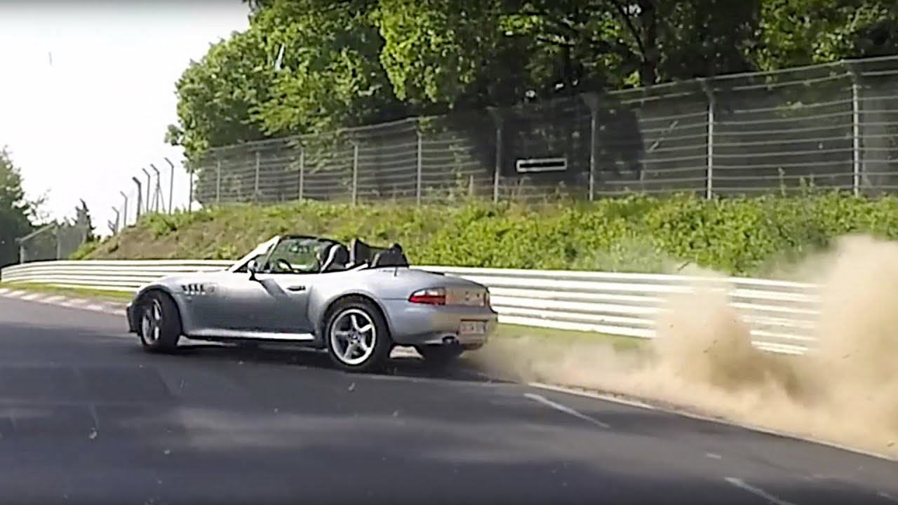 Bmw Z3 Roadster Nearly Crashed At Metzgesfeld