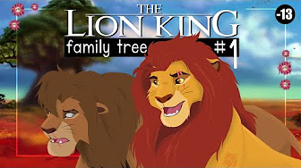 The Lion King Family Tree Narrative Serie Youtube