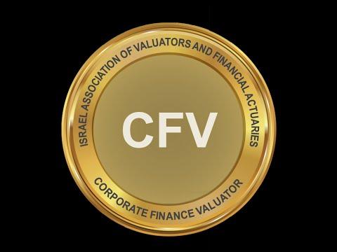 מעריך שווי מימון תאגידי (CFV) - מר רועי פולניצר, לשכת מעריכי השווי בישראל (IAVFA)
