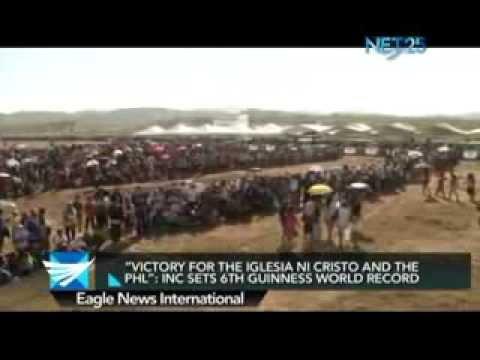INC sets 6th Guinness world humanitarian record