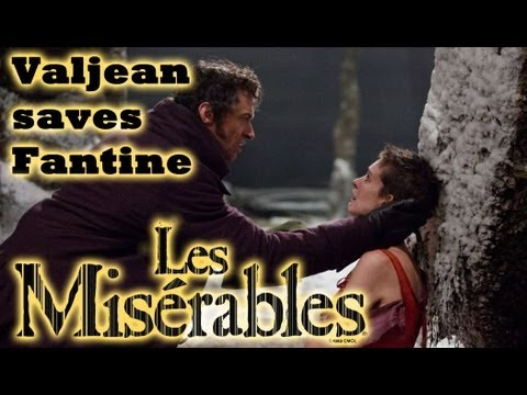 Les Miserables: Valjean Saves Fantine Scene HD 1080p (2013) Blu-Ray