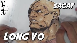 Long Vo drawing Sagat