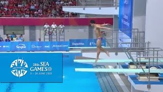 Aquatics Diving 3m Men's Final (Day 2) | 28th SEA Games Singapore 2015