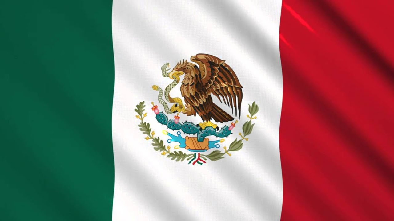 Bandera De México Video Background