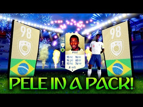 98 PELE IN A PACK! 10 X WORLD CUP ICON SBC PACKS! FUT 18 WORLD CUP
