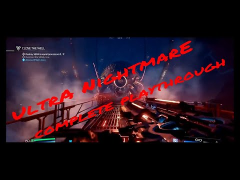 Doom 2016 - Full Ultra Nightmare Run PC - Upgraded Ai