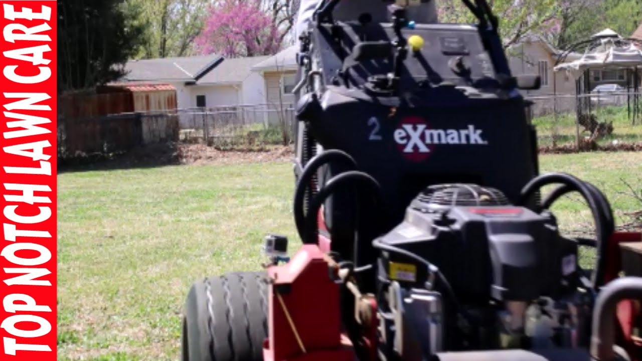 medium resolution of exmark vantage belt slipping replacing tension spring lawn care vlog 110