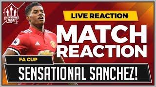Yeovil 0-4 Manchester United | RASHFORD, HERRERA, LINGARD and LUKAKU Goals Win it!
