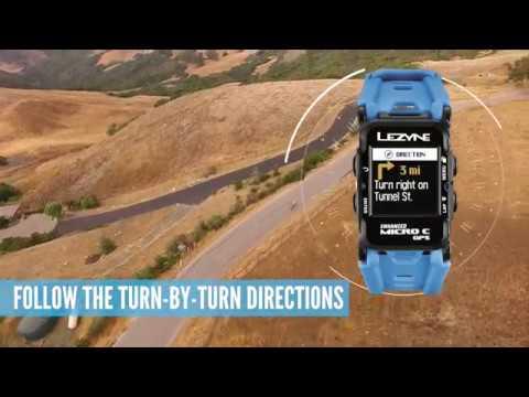 015e40e7d842 Lezyne Micro C   Micro GPS Watch - YouTube