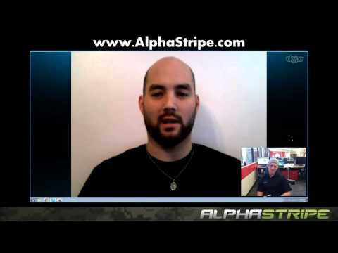 Iraq Veteran (Keith Hoover)  wins a roundtrip airline ticket to Vegas from AlphaStripe.com