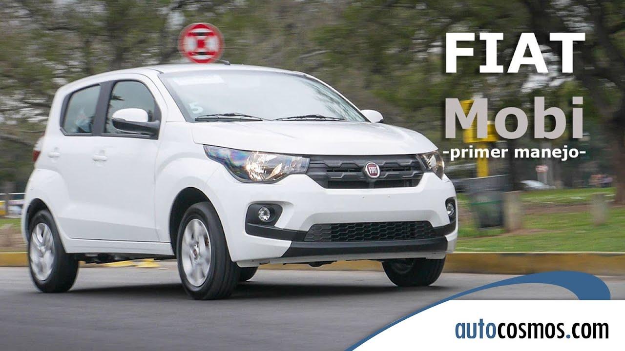 Manejamos El Nuevo Fiat Mobi Autocosmos Youtube