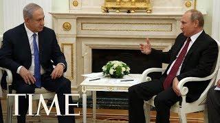 Vladimir Putin And Benjamin Netanyahu Discuss Iran-Syria Ties In Moscow | TIME