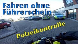 Quad Fahren ohne Führerschein / Polizeikontrolle / Quad-Vlog