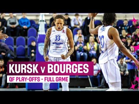 Dynamo Kursk (RUS) v Tango Bourges (FRA) – Full Game – Play-offs – 2014-15- EuroLeague Women