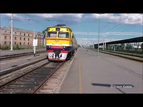 Missing the train  Riga Railway Station, Latvia