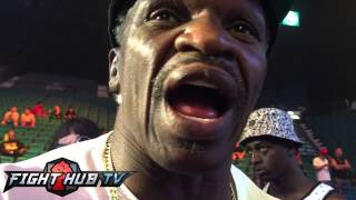 """Floyd Mayweather Sr  """"I dont want Khan to get a payday, he's a fag!"""""""
