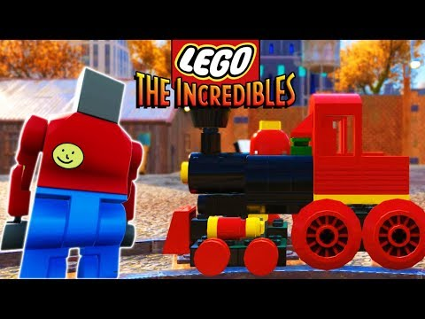 BRICK RIGS BOB BUILDS AND STOPS THE LEGO TRAIN! - Lego The Incredibles Gameplay #24