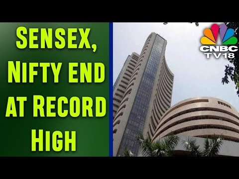 Sensex, Nifty end at Record High | Watch all the Stock Action of the Day in 2 mins | CNBC TV18