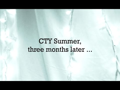 CTY Summer, Three Months Later ... | Johns Hopkins CTY