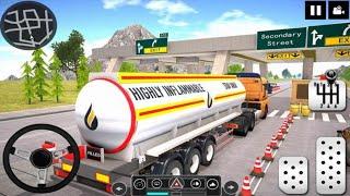 Oil Tanker Truck Driver 3D - Free Truck Games 2020 Best Android Gameplay HD screenshot 1