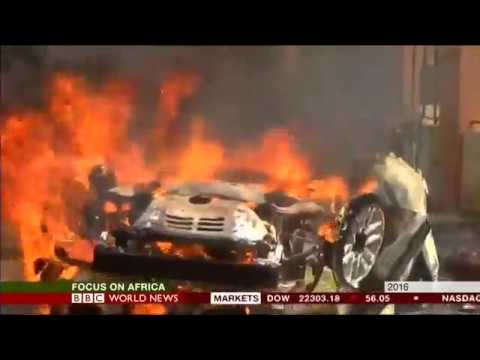 CAMEROON PROTESTS | BBC AFRICA