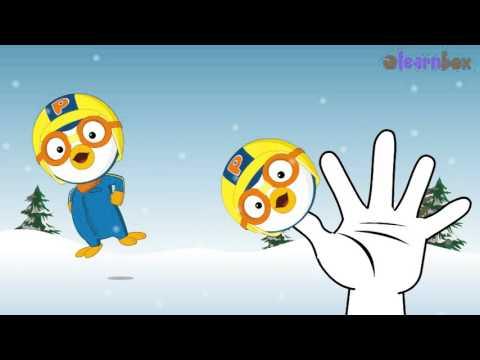 Finger Family Pororo Cartoon Daddy Finger Family Children Nursery Rhymes Kindergarten Songs