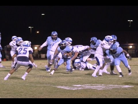 Canyon Springs High School football team captures thrilling overtime win
