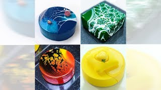 Beautiful Mirror Glaze Cakes by Ksenia Penkina