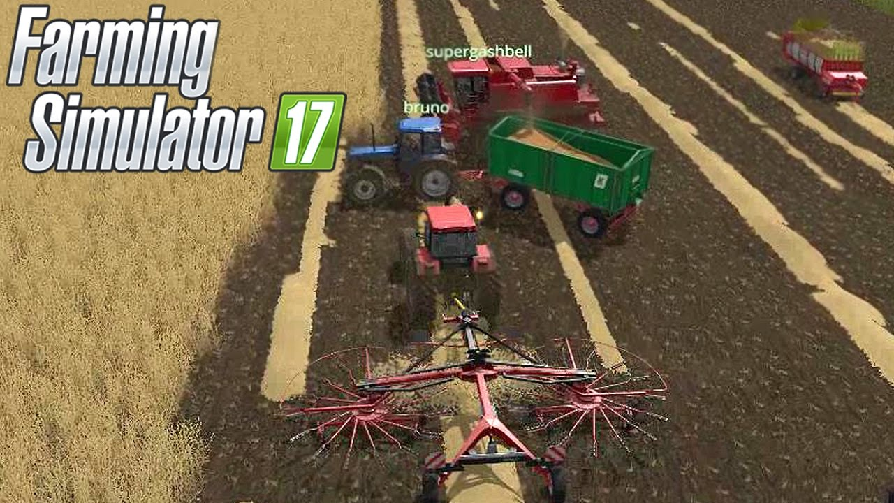FARMING SIMULATOR 17 #18 - PAGLIA E RANGHINATORE - FS 2017 GAMEPLAY ITA  w/supergashbell/xStarter