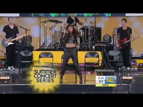 Selena Gomez - Birthday Live At (Concert GMA 7-26-13)