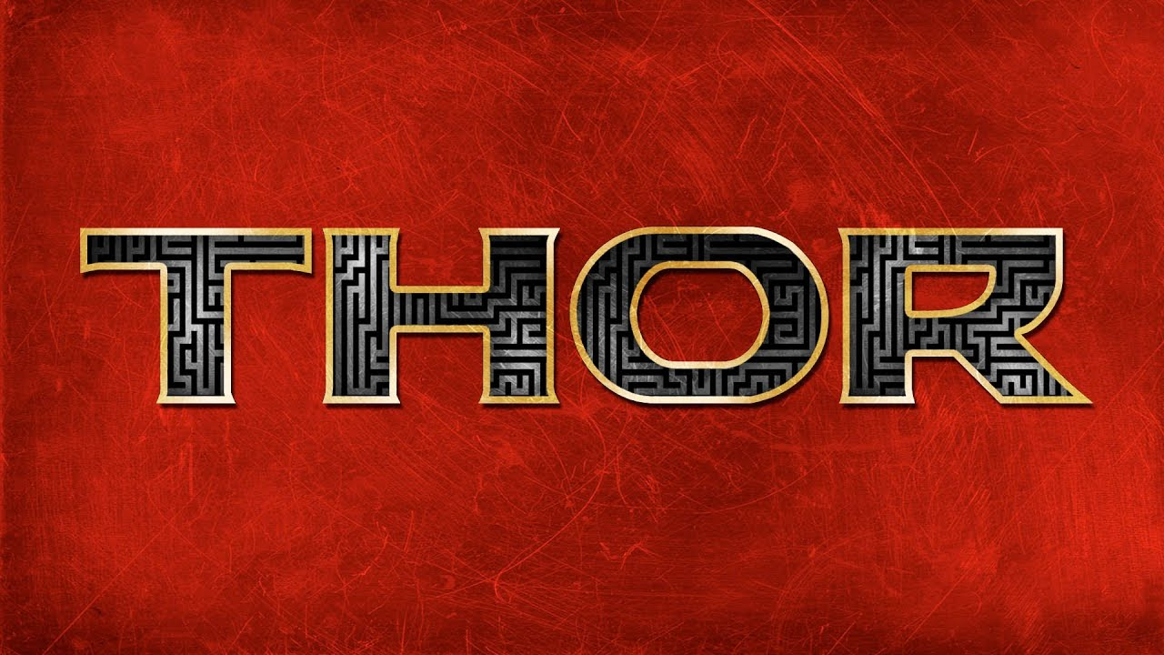 Create A Thor Style Movie Title - Advanced Text in ...