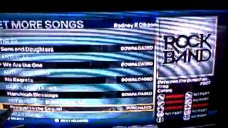 How to detect and restore disappearing DLC music tracks in Rock Band 3 on Nintendo Wii