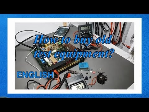 Best Advice To Buy Old And Used Electronics Test Equipment / Best Buy Oscilloscope Or Dmm Multimeter