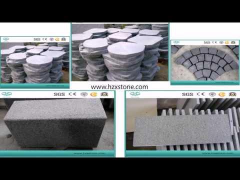 Granite , Marble , Basalt , Bluestone , Sandstone ,