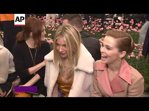 Spring and A-listers at Tory Burch fashion show