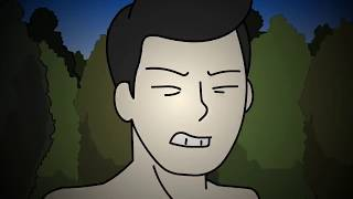 Creepy Camping Alone Horror Story Animated