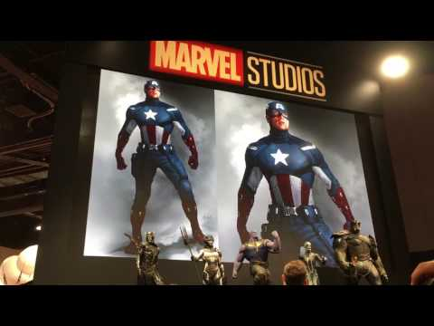D23 2017 : Marvel Studios Booth - Ryan Meinerding