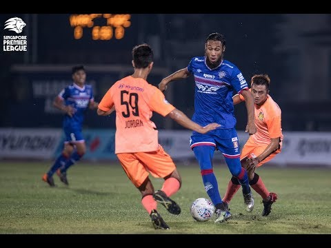 2018 Singapore Premier League: Warriors FC 2-0 Hougang United FC