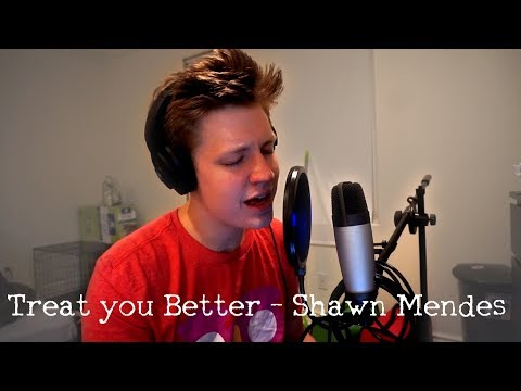 Singing Sundays: Treat You Better by Shawn Mendes (Cover)