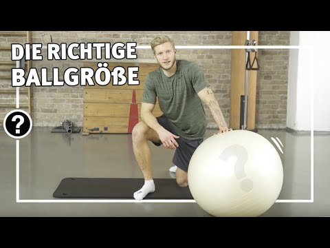 Video: Sport-Thieme® Fitness-Bal