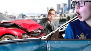 I crashed my car! - Roblox