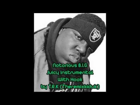 Notorious B.I.G - Juicy Instrumental (WITH HOOK) T.R.K