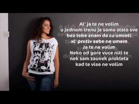 Ana Perisic 2012 - Ja te ne volim [Lyrics on Screen ]