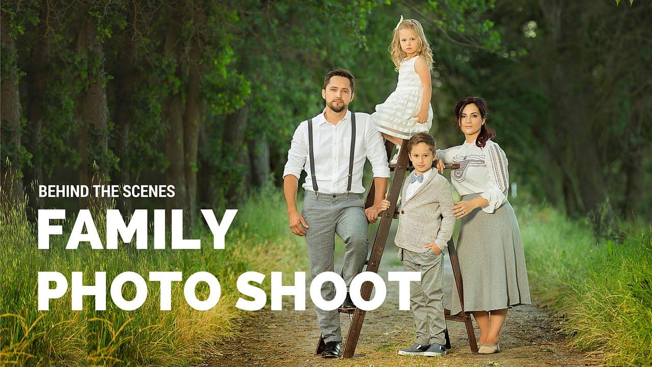 CREATIVE Family Photo Shoot with props, family photo ideas ...