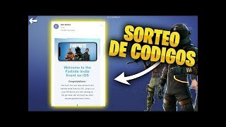 REGALANDO MAS CODIGOS PARA FORTNITE - XBOX-PC-PS4