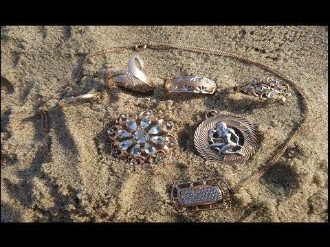 Пляжный коп.Поиск золота.После
