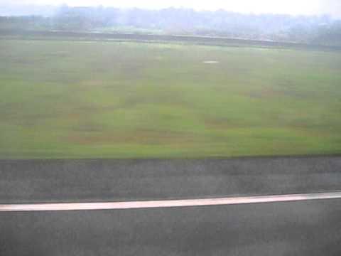 Kerala -Flight Landing to God's Own Country