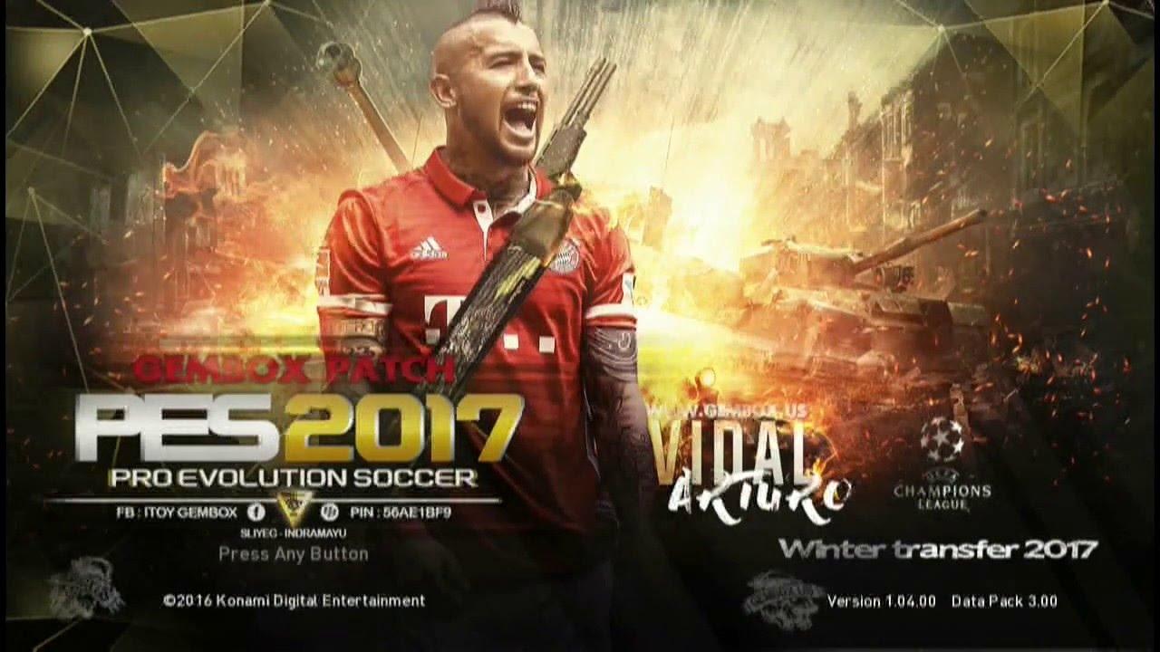 نتيجة بحث الصور عن PES 2017 PS3 GEMBOX PATCH + DLC 3.00