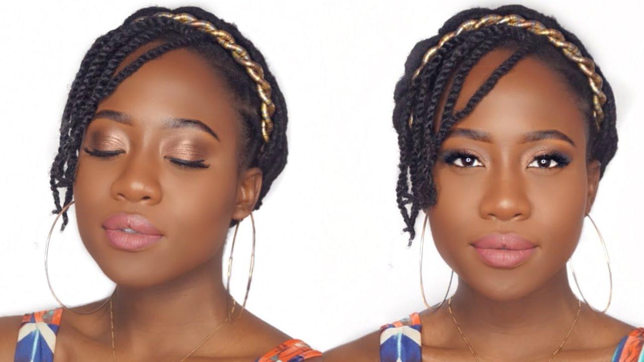 Makeup tutorial for black women beginners