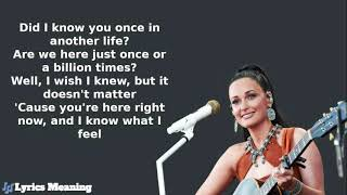 Kacey Musgraves - Oh What A World   Lyrics Meaning